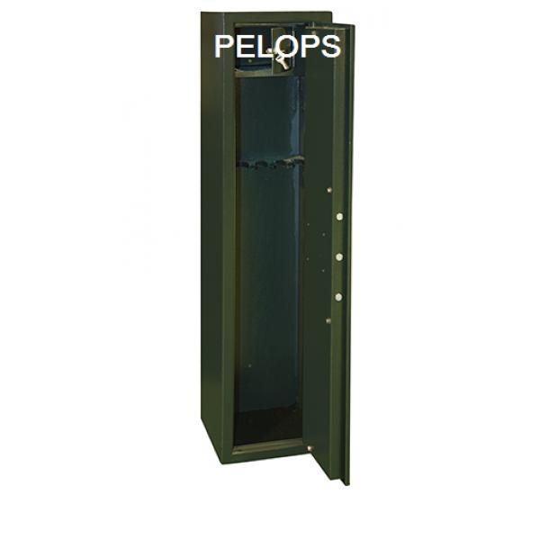 Οπλοκιβωτιο pelops Μεταλικο 3 Οπλων Με Κλειδαρια