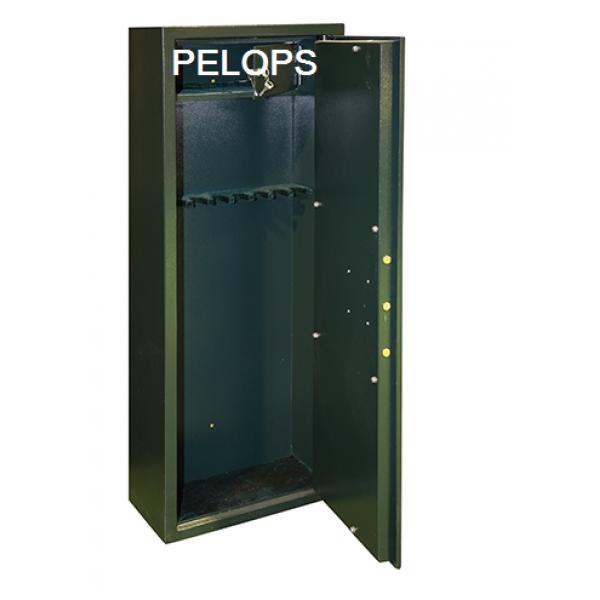 Οπλοκιβωτιο pelops Μεταλικο 8  8 Θεσεων με Κλειδαρια 1538Τ