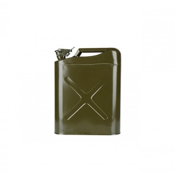 Μεταλλικό Κάνιστρο 20 λιτ. με Καπάκι Ασφαλείας