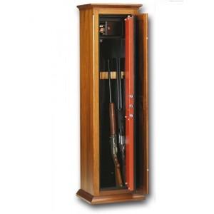 Οπλοκιβωτιο  Technomax  7 όπλων   μέ κλειδί καί ξύλινη επένδυση
