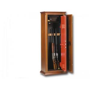 Οπλοκιβωτιο Technomax  10 όπλων   μέ κλειδί καί ξύλινη επένδυση