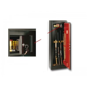 Οπλοκιβωτιο Technomax 7 Θεσεων με κλειδι HS7