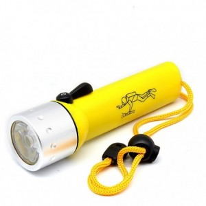Επαγγελματικός Καταδυτικός Φακός 6V, 3W Professional Flashlight for Diving, BL-PF-02