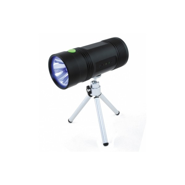 Φακός UV 1 LED / 3W επαναφορτιζόμενος